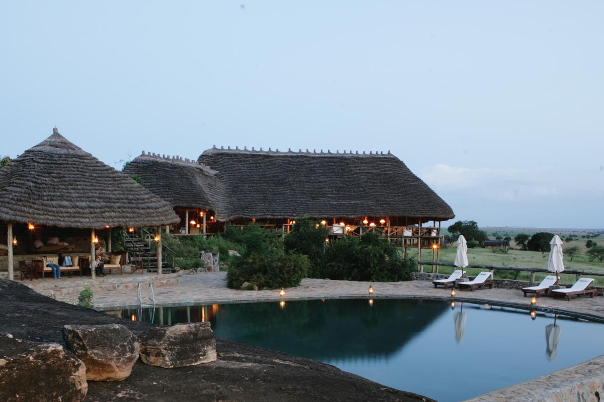 Apoka Lodge in Kidepo National Park