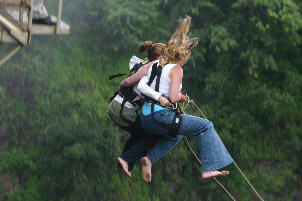 Bungee Jump - Jinja, The Adrenaline Capital of East Africa