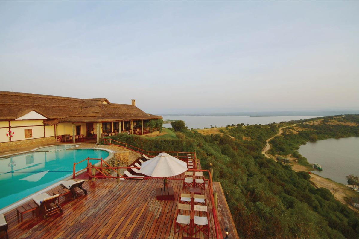 Queen Elizabeth National Park, Mweya Safari Lodge