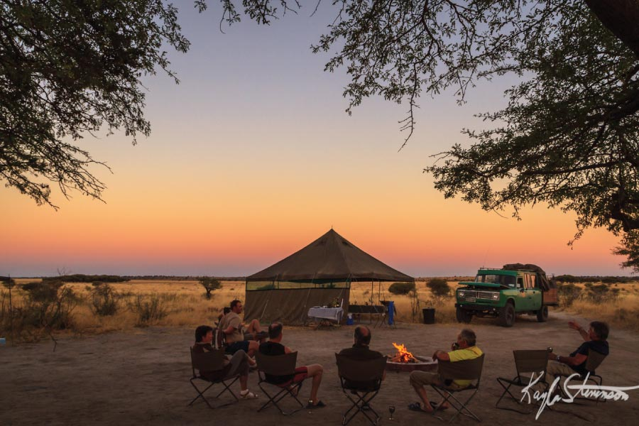 Central Kalahari Game Reserve, Botswana - off the beaten track safari