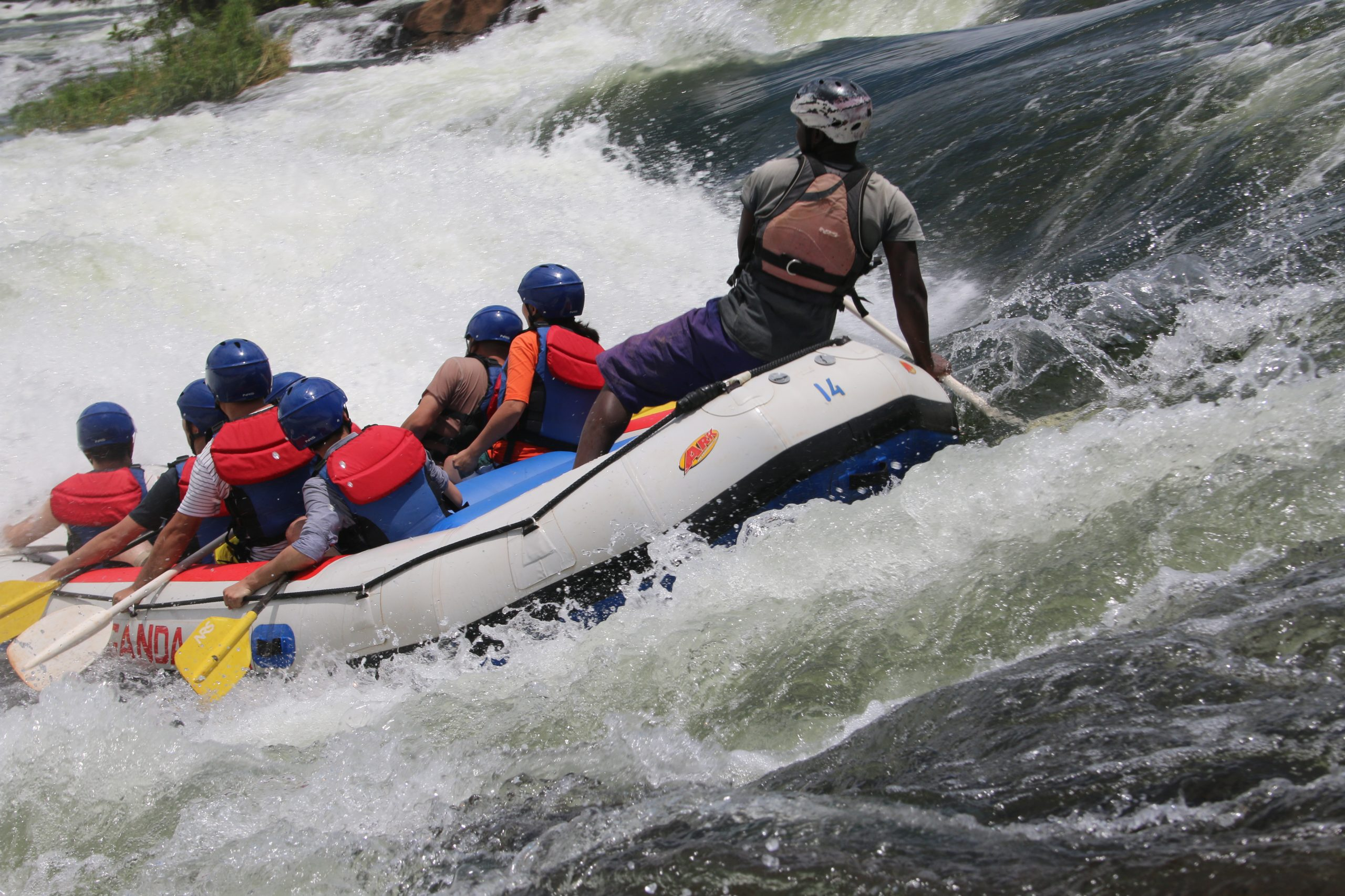 5 DAYS MURCHISON FALLS AND WHITE-WATER RAFTING IN UGANDA.