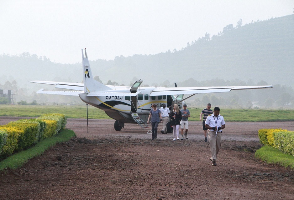 3 Days Gorilla tracking safari by flying